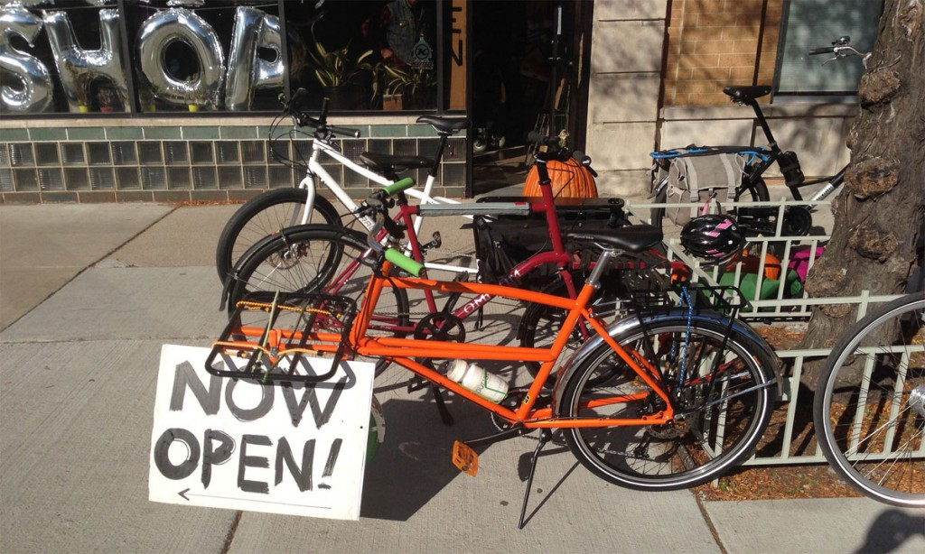 Small business cycle shop