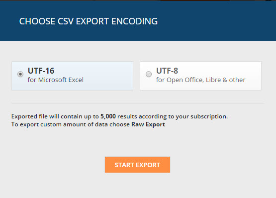 ahrefs export file