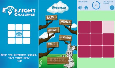 EyeSight Challenge Android Application
