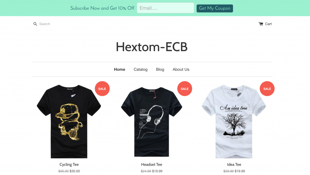 email-collection-bar-shopify-app
