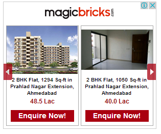 magicbricks dynamic display ads