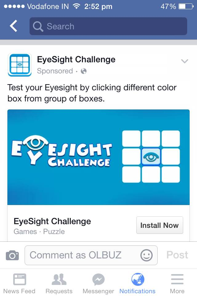 EyeSight Challenge
