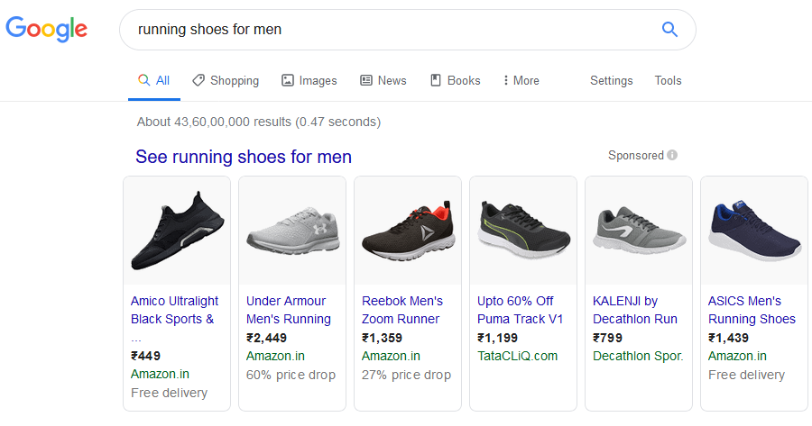 google-shopping-ad-example