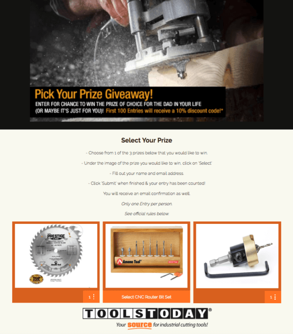 tools today giveaway contest